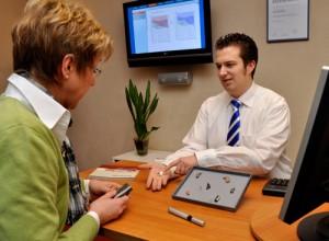 Wir beraten Sie ausführlich bei der Auswahl des richtigen Hörgerätes