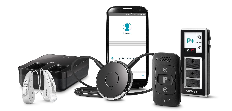 Ladestation, Fernbedienung und App für's Handy